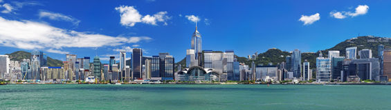 Гавань Гонконга Стоковые Фото