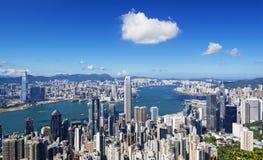 Гавань Гонконга Стоковые Фотографии RF