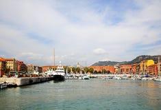 гавань города славная стоковые изображения rf