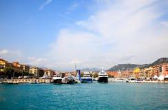гавань города славная стоковые изображения