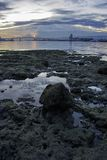 Гавань города Cebu Стоковые Изображения RF