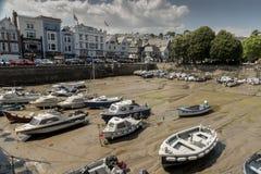 Гавань Девон Великобритания Dartmouth стоковые изображения