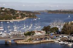 гавань залива стоковые изображения rf
