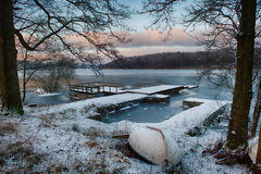 Гавань зимы Стоковые Фото
