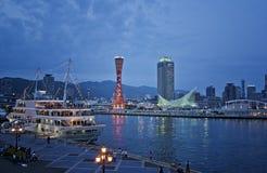 Гавань Кобе, Япония Стоковые Фотографии RF
