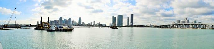 Гавань Майами Стоковые Изображения RF