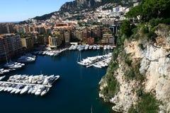 Гавань Монако малая Стоковые Фотографии RF