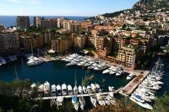 Гавань Монако малая Стоковые Изображения