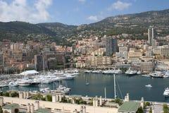 гавань Монако Стоковые Изображения RF