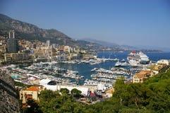 гавань Монако стоковые фотографии rf