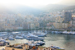 Гавань Монако Стоковые Фото