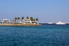 Гавань моря Hurghada стоковые фотографии rf