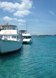 Гавань Нассау Багамских островов Стоковые Фото
