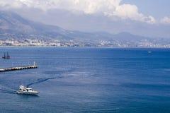 Гавань на Alanya турецкий riviera стоковое изображение rf