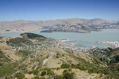 Гавань Новая Зеландия Lyttleton Стоковая Фотография