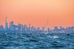 Гавань нью-йорк Стоковые Изображения RF