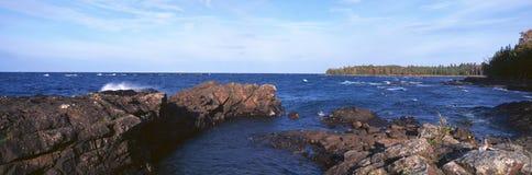 Гавань орла, Lake Superior, Мичиган Стоковое Изображение RF