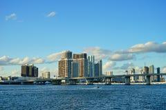 Гавань пляжа Майами южная Стоковая Фотография