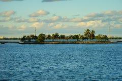 Гавань пляжа Майами южная Стоковое Изображение RF