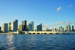 Гавань пляжа Майами южная Стоковое фото RF