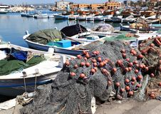 Гавань покрышки, Ливан стоковое фото rf