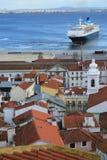 Гавань Португалия Лиссабона Стоковые Изображения