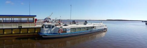 Гавань реки Стоковая Фотография