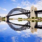 гавань Сидней моста Стоковые Изображения