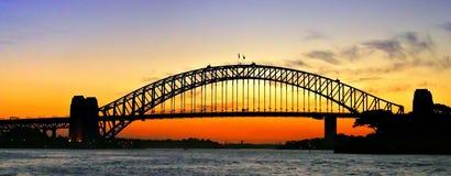гавань Сидней моста Стоковая Фотография