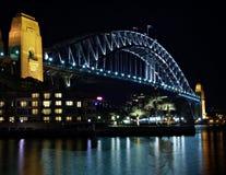 гавань Сидней моста Стоковое Изображение