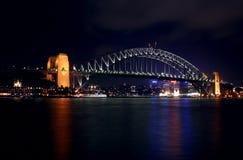 гавань Сидней моста Стоковое Изображение RF