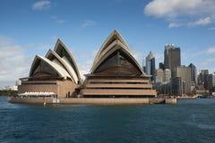 Гавань Сиднея, оперный театр Сиднея, Австралия Стоковое Фото