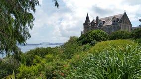 Гавань Сиднея средневековая обозревает Стоковая Фотография