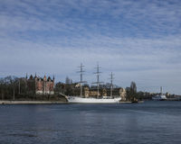 Гавань, Стокгольм, Швеция Стоковое фото RF