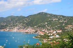 гавань тропическая стоковое фото