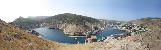 гавань Украина balaklava Стоковое фото RF