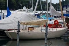 гавань шлюпок цветастая Стоковая Фотография