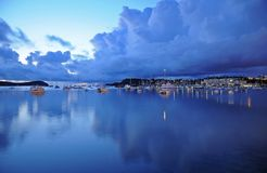 гавань шлюпок стоковое фото