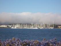 Гавань яхты пути Марины Стоковое Изображение