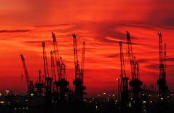 гавань Стоковая Фотография