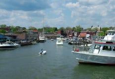 гавань annapolis стоковое изображение rf