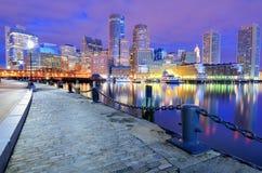 гавань boston стоковая фотография