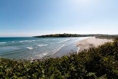 Гавань Clonakilty - взгляд пляжа Inchydoney Стоковые Фото
