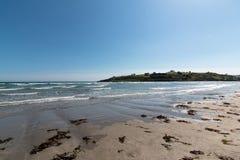 Гавань Clonakilty - взгляд пляжа Inchydoney Стоковое фото RF