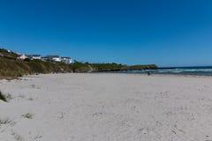 Гавань Clonakilty - взгляд пляжа Inchydoney Стоковая Фотография