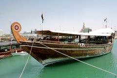 гавань dhow Стоковая Фотография