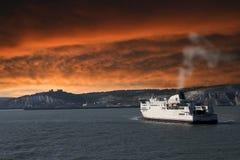 гавань dover стоковое изображение rf