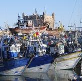 гавань essaouira Стоковое Изображение