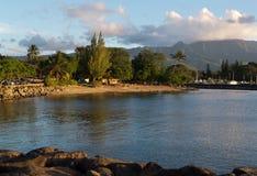 Гавань Haleiwa залива Waialua Стоковые Изображения RF
