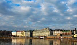 гавань helsinki береговой линии стоковые фотографии rf